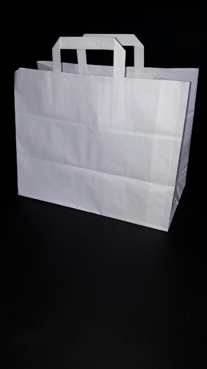 Papieren Draagtas 300st<br />32 x 18 x 26 cm